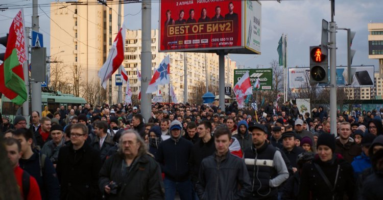 Hundreds of protesters in Belarus under arrest