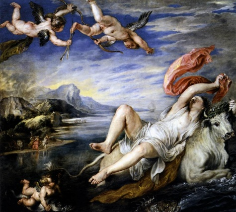 Rubens, The Rape of Europa, 1630