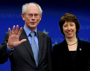 Two challenging choices for EU's future : President Van Rompuy and HR Ashton