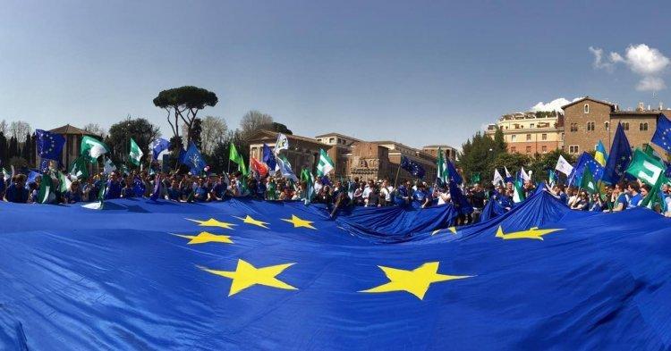 Les Européens marchent pour leur continent