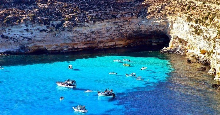 The most remote places of the EU: Lampedusa