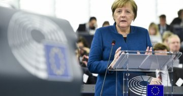 Is Angela Merkel becoming a federalist?