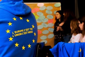Deal with strangers, suffer in isolation – or feel European