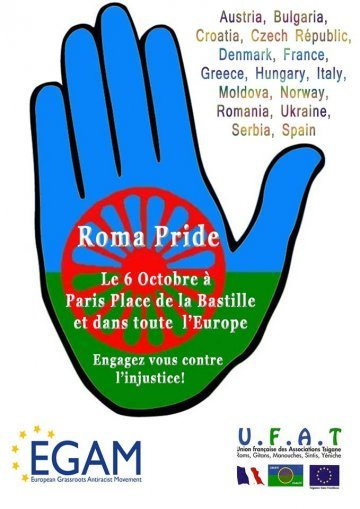 Dignity for Roma people in Europe!