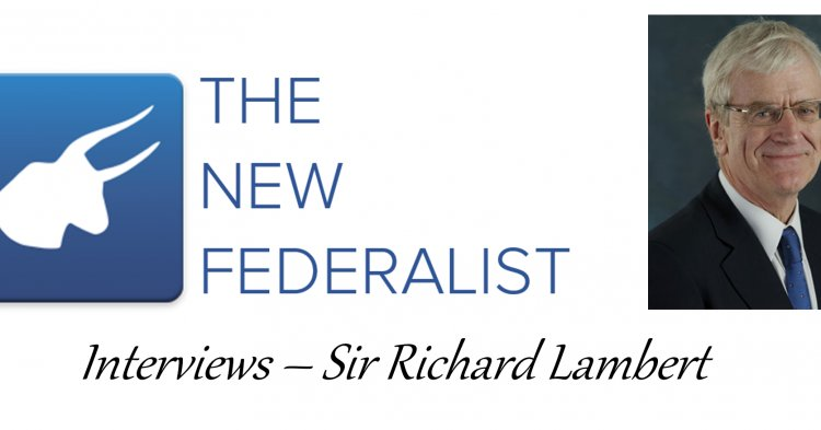 Interview: Sir Richard Lambert on Economics and the EU Referendum