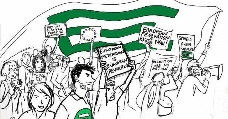 Towards the European elections: The courage to exist... and to resist