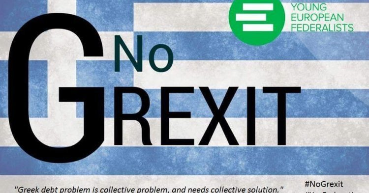 NO Grexit, YES Federation