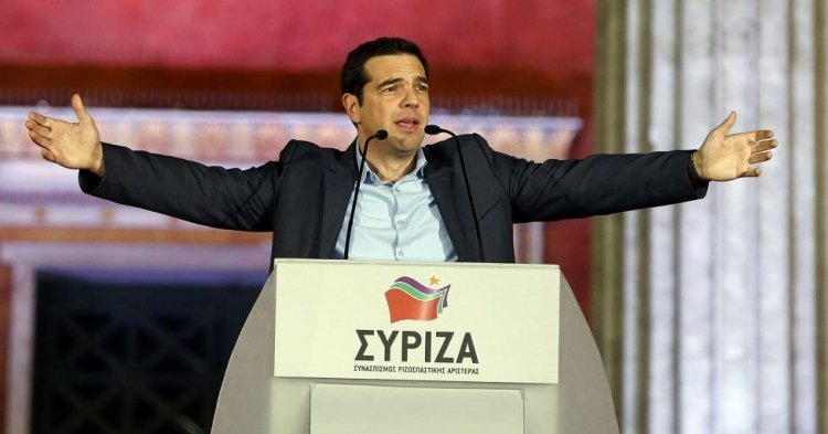 Greek elections- a historic victory for Syriza