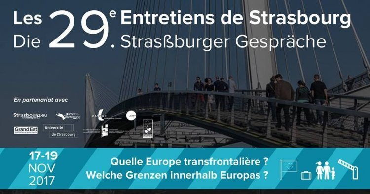 "The 29th ""Interviews of Strasbourg"": rising migratory and cross-border issues in Europe"