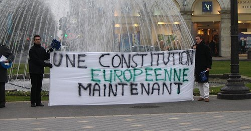 UEF President warns against watering down European constitution