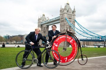 On Yer Bike, Boris ! How BoJo's Ambition is Damaging Britain