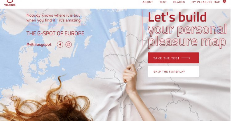 "Student-created ""G-spot of Europe"" campaign attracts curiosity towards Vilnius"