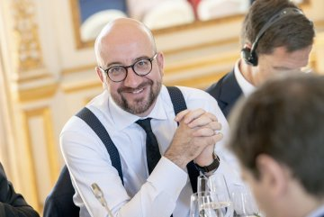 Who is Charles Michel, the next President of the European Council?