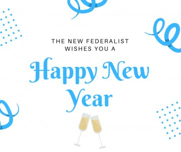 Happy New Year from The New Federalist !