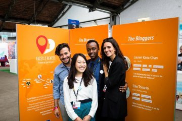 Covering international development : Interview with the Faces2Hearts bloggers by EuropeAid