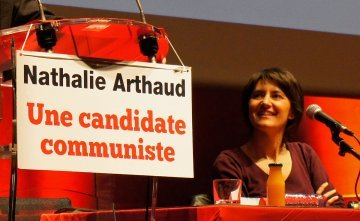 "France's communist Workers' Struggle party calls for ""socialist United States of Europe"""