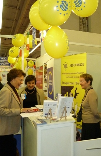 Salon de l'éducation, Paris, novembre 2010