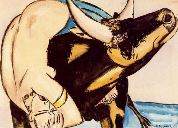 Max Beckmann, The Rape of Europa, 1933